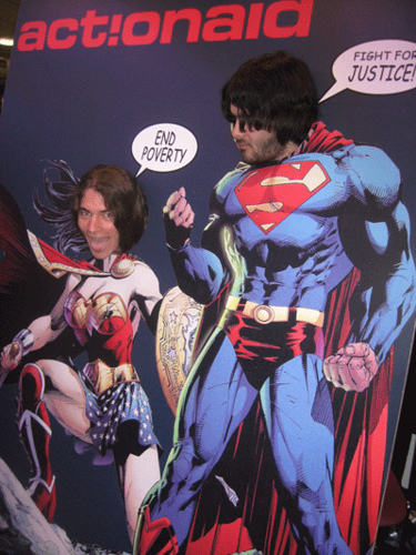 Dude, δεν ξέρω ποιος είσαι, αλλά kick-ass Superman