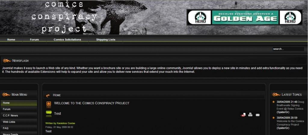 comicsconspiracyproject