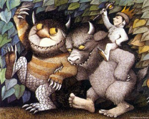 Where The Wild Things Are - Interior Art #2