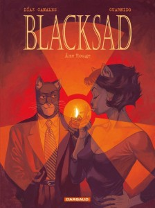Blacksad Tome 3 - Couverture - Ame Rouge