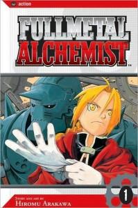Fullmetal Alchemist vol. 1 - Cover