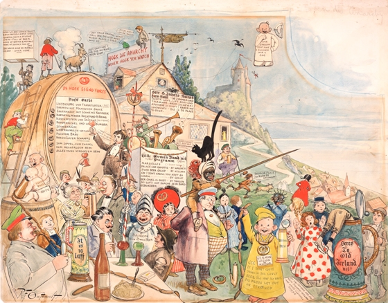 International Museum of Cartoon Art Collection, The Ohio State University Billy Ireland Cartoon Library & Museum