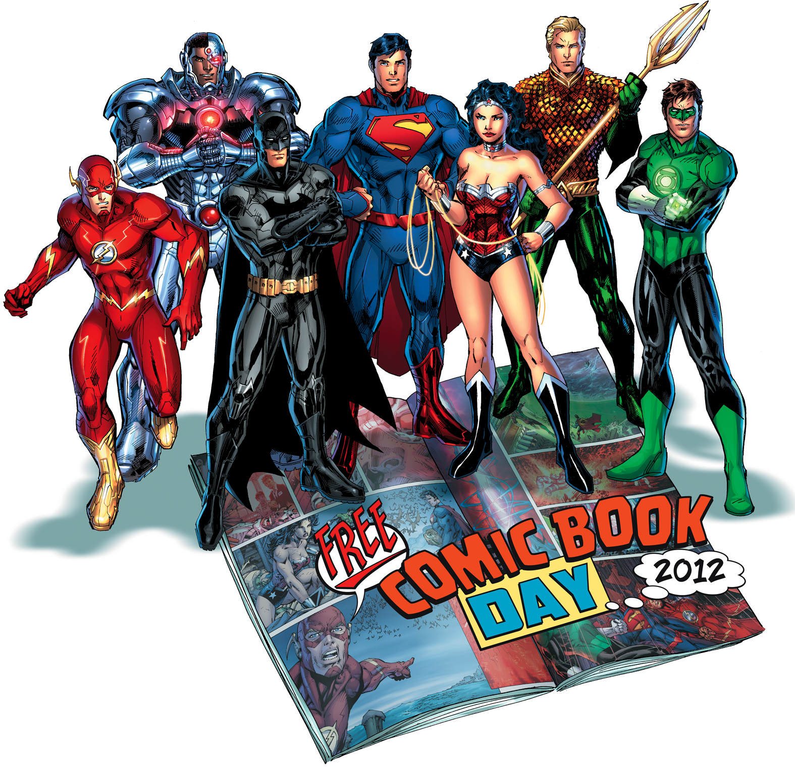 Free Comic Book Day Banner: COMICDOM JOURNAL #24