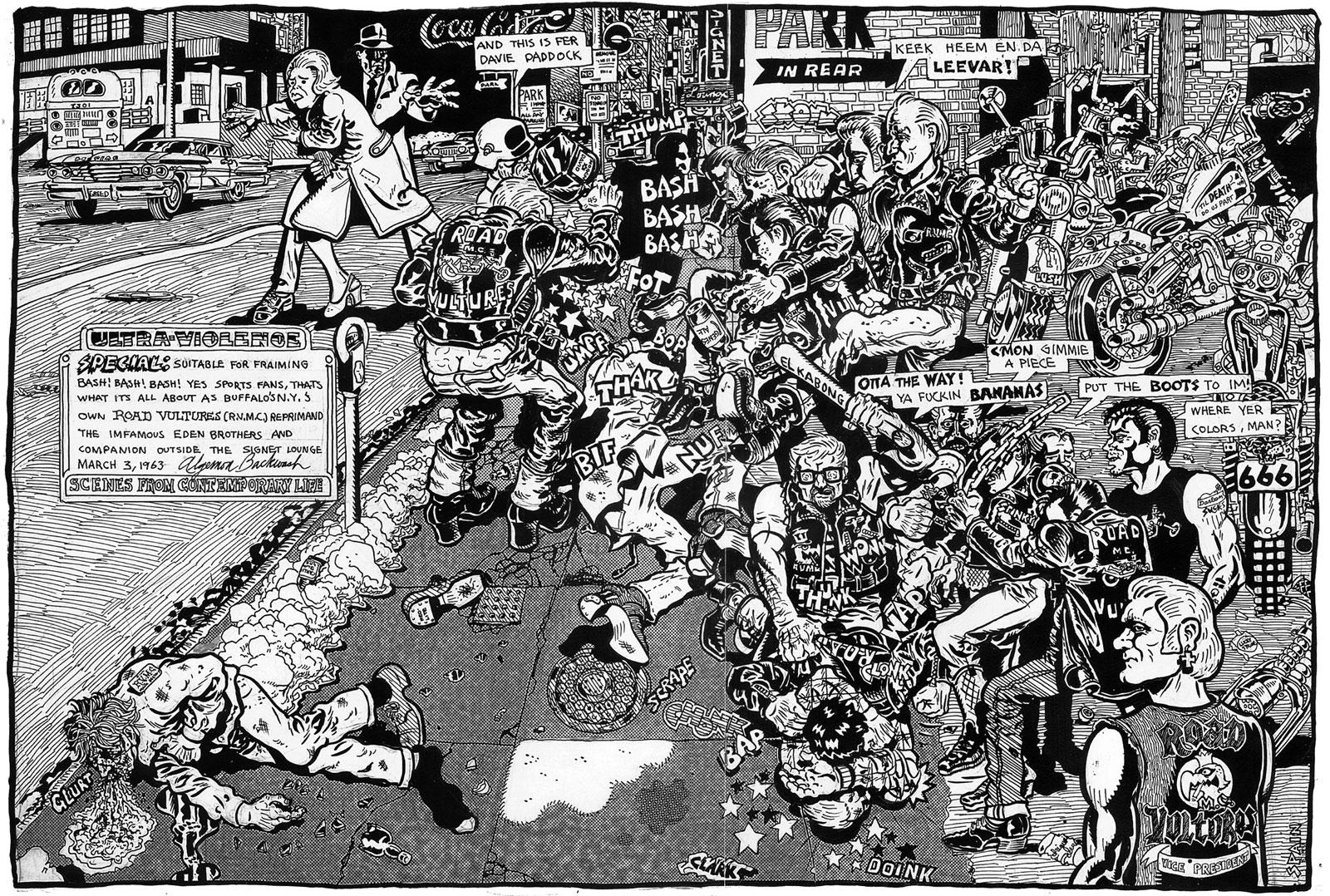 Buffalo, march 3, 1963 poster
