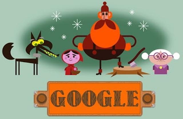 Grimm Google Doodle