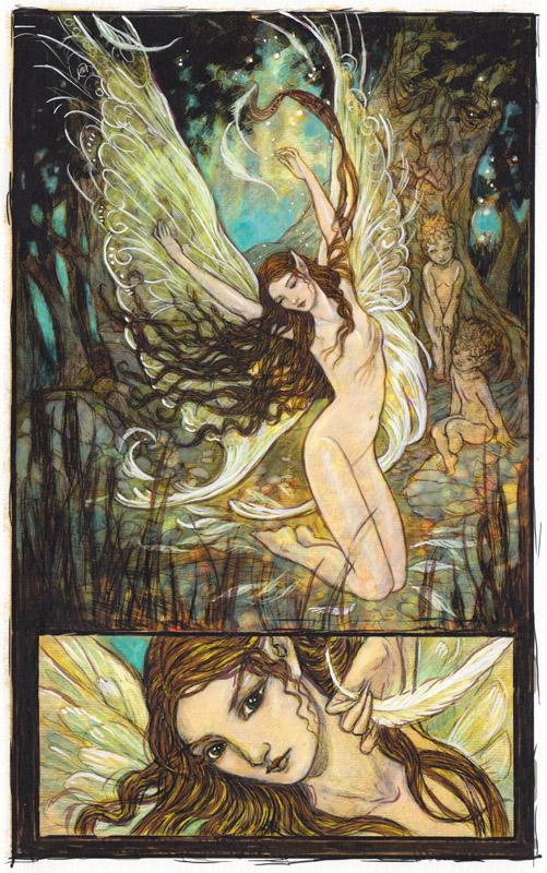 A Flight of Angels - Fairy