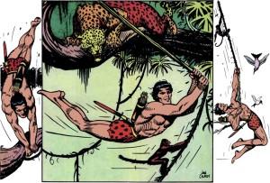 Poster Tarzan by John Celardo