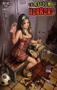 ASYLUM asylum of horrors 3 cvr