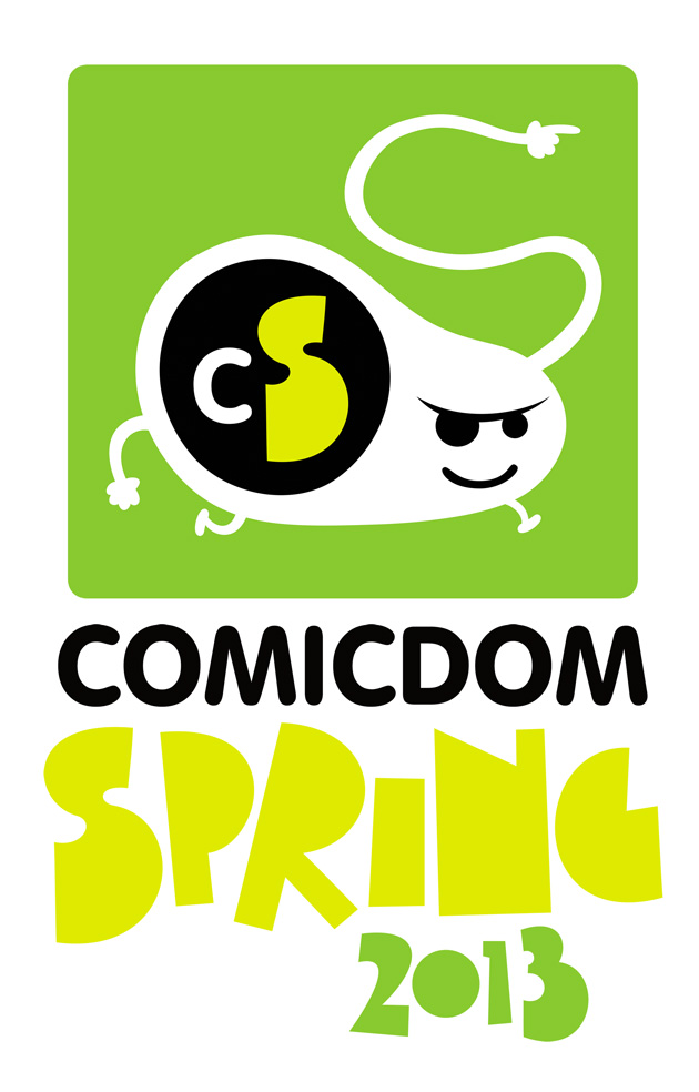 Comicdom Spring 2013 Logo & Illustration by Tomek