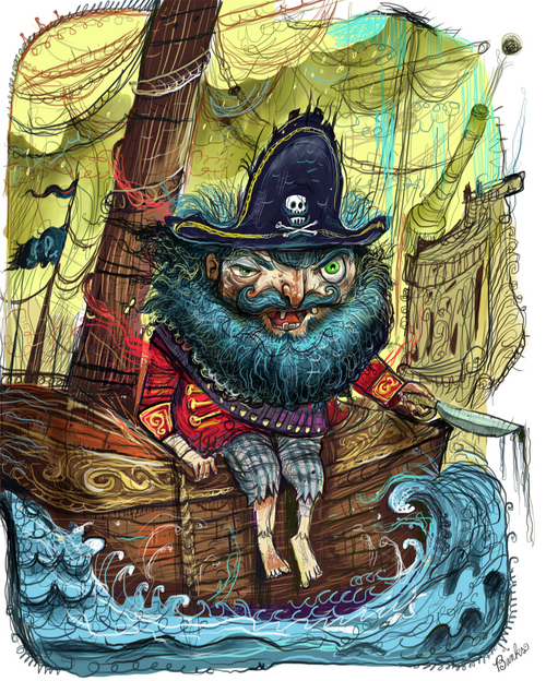 """Precious Pirate"" του Timothy Banks"