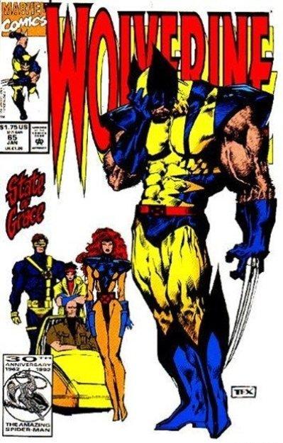 Εντάξει ο δακρύβρεχτος, τούμπανος Wolverine! H Jean Grey τί φοράει;