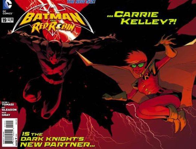 Batman and Robin Carrie-Kelley