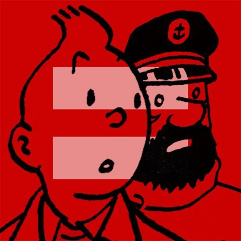 tintin haddock gay equality marriage