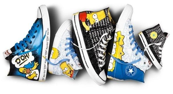 Simpsons-Converse