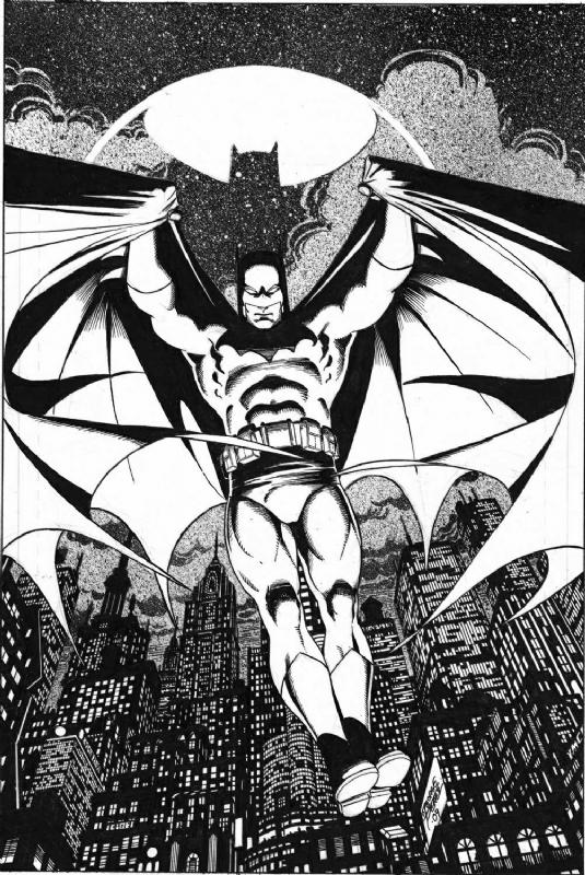 perez-batman-bw