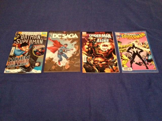 DC Vs Marvel: International Edition (Από αριστερά, εκδόσεις από: Βρετανία, Γαλλία, Γερμανία και Ισπανία)