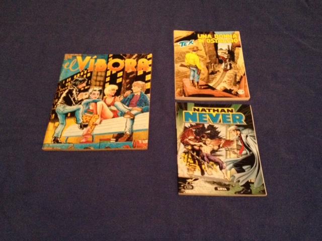Ισπανικό περιοδικό ή ιταλικά fumetti; Όλα καλοδεχούμενα!