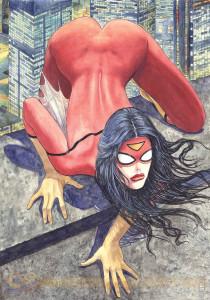 Milo-Manara-Spider-Woman-001-2014-Variant