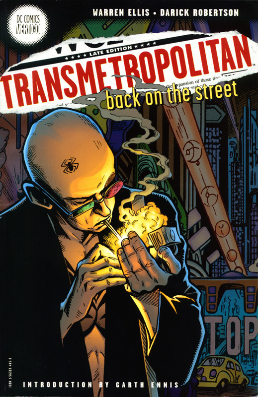Transmetropolitan - Back on the Street - Cover - Small