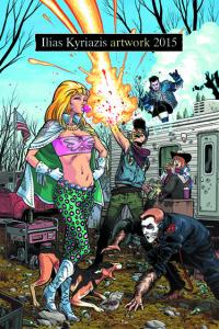 ILIAS KYRIAZIS artwork 2015 [Comicdom Press]