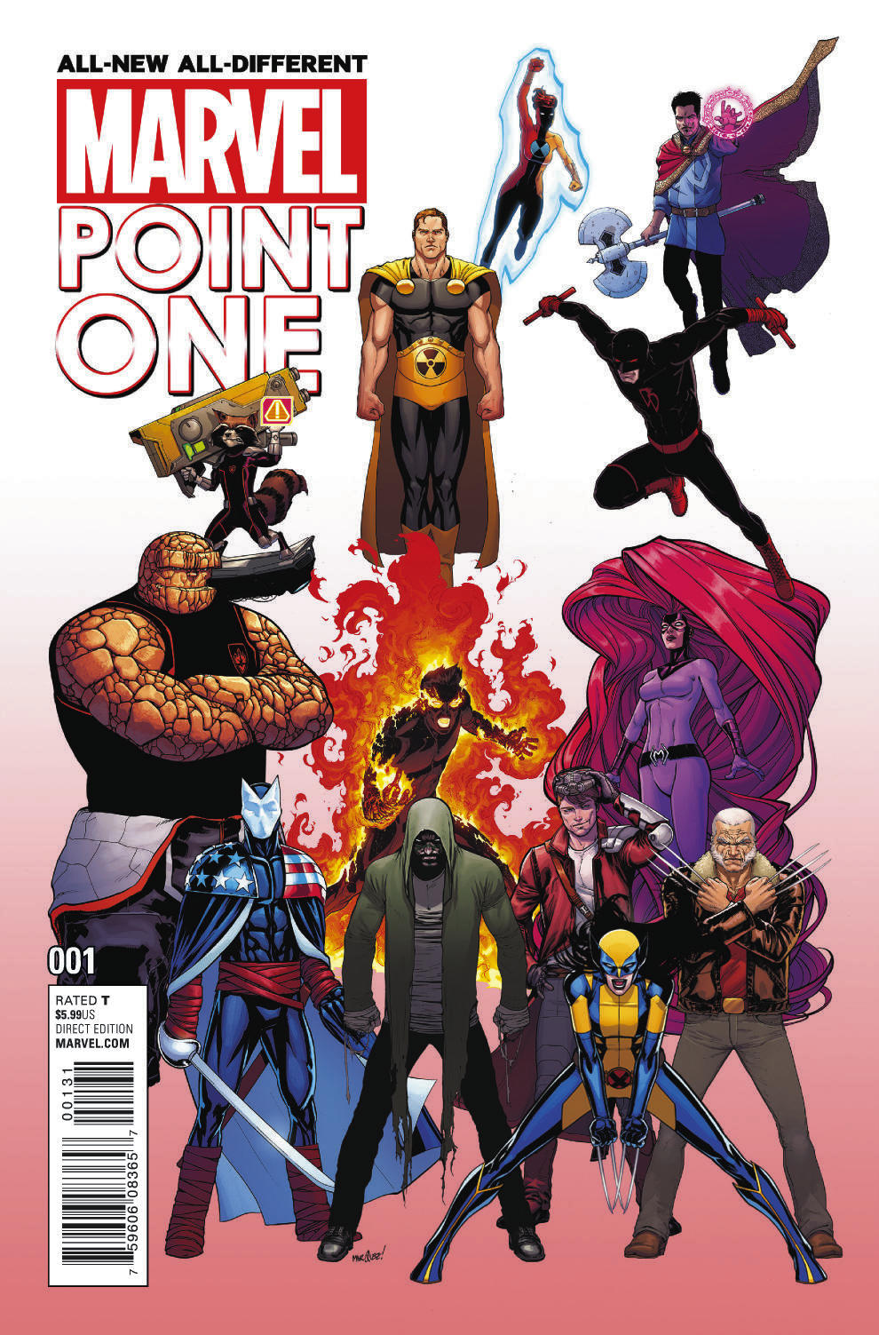 All-New All-Different Marvel Point One