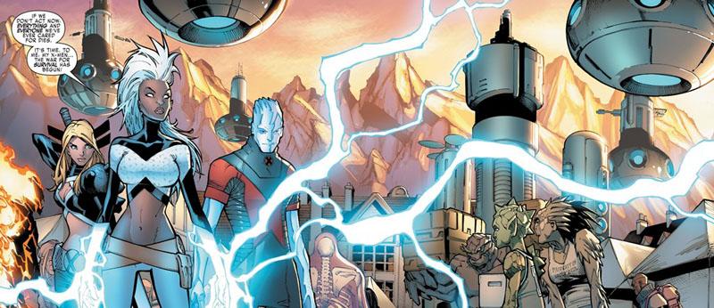 Extraordinary X-Men -panel