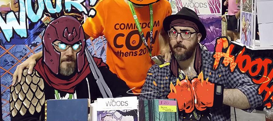 Comicdom Con Athens Workshops