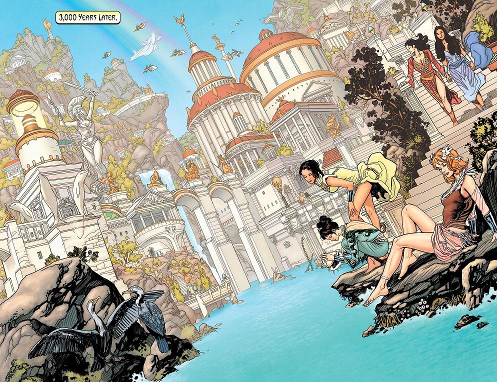 Wonder Woman - Earth One v1