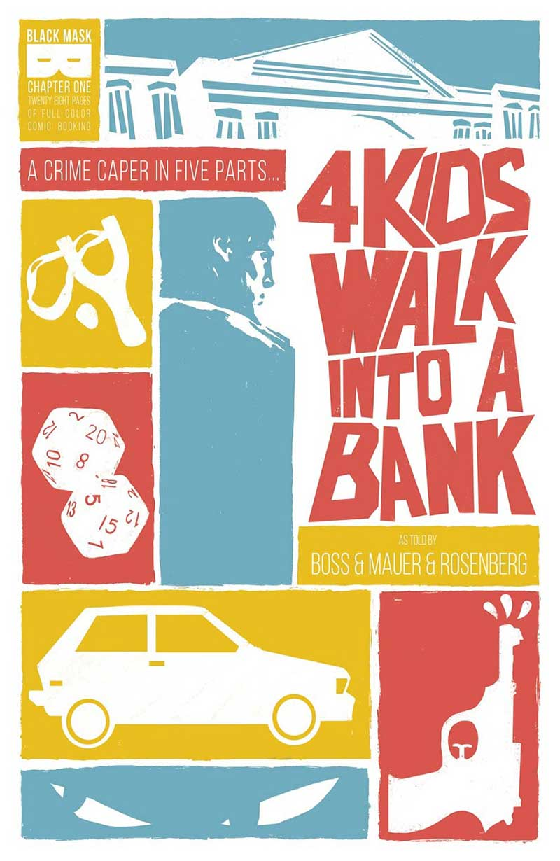 4 Kids Walk Into A Bank