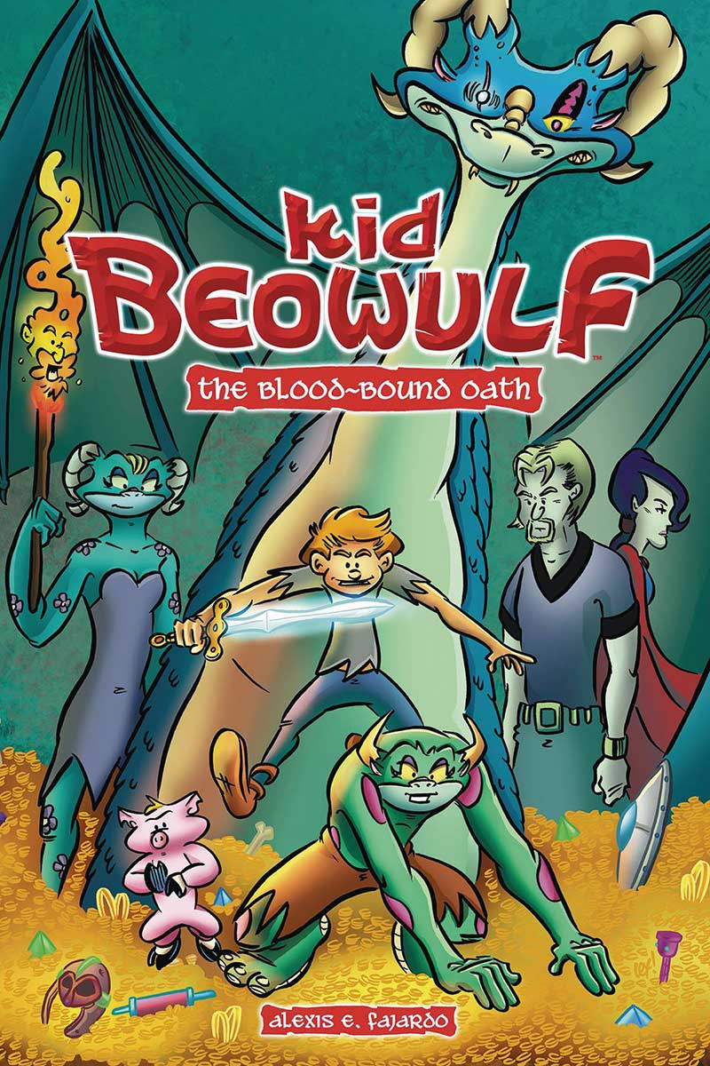 Kid Beowulf Book 1: The Blood-Bound Oath