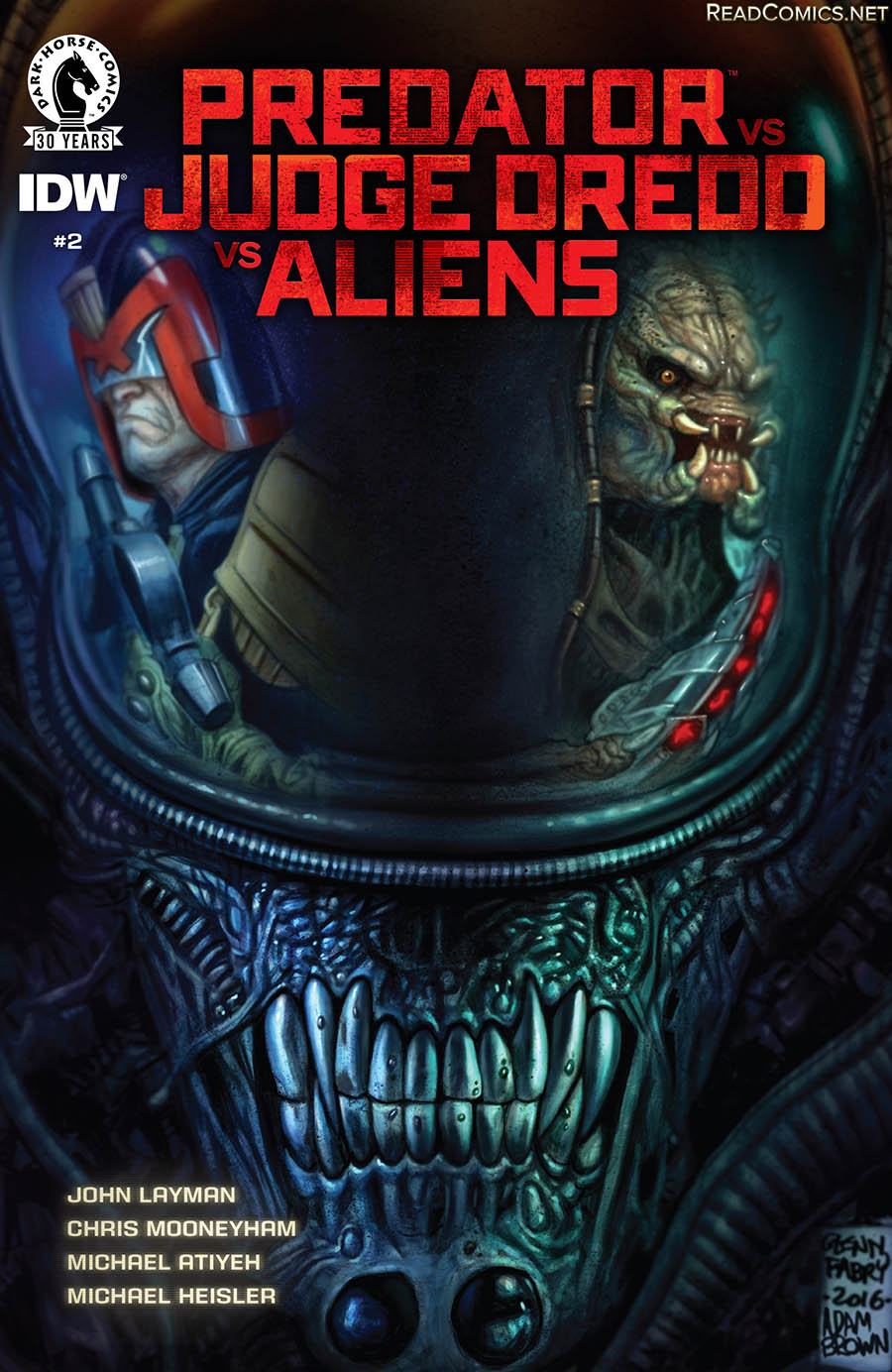 Predator vs. Judge Dredd vs. Aliens