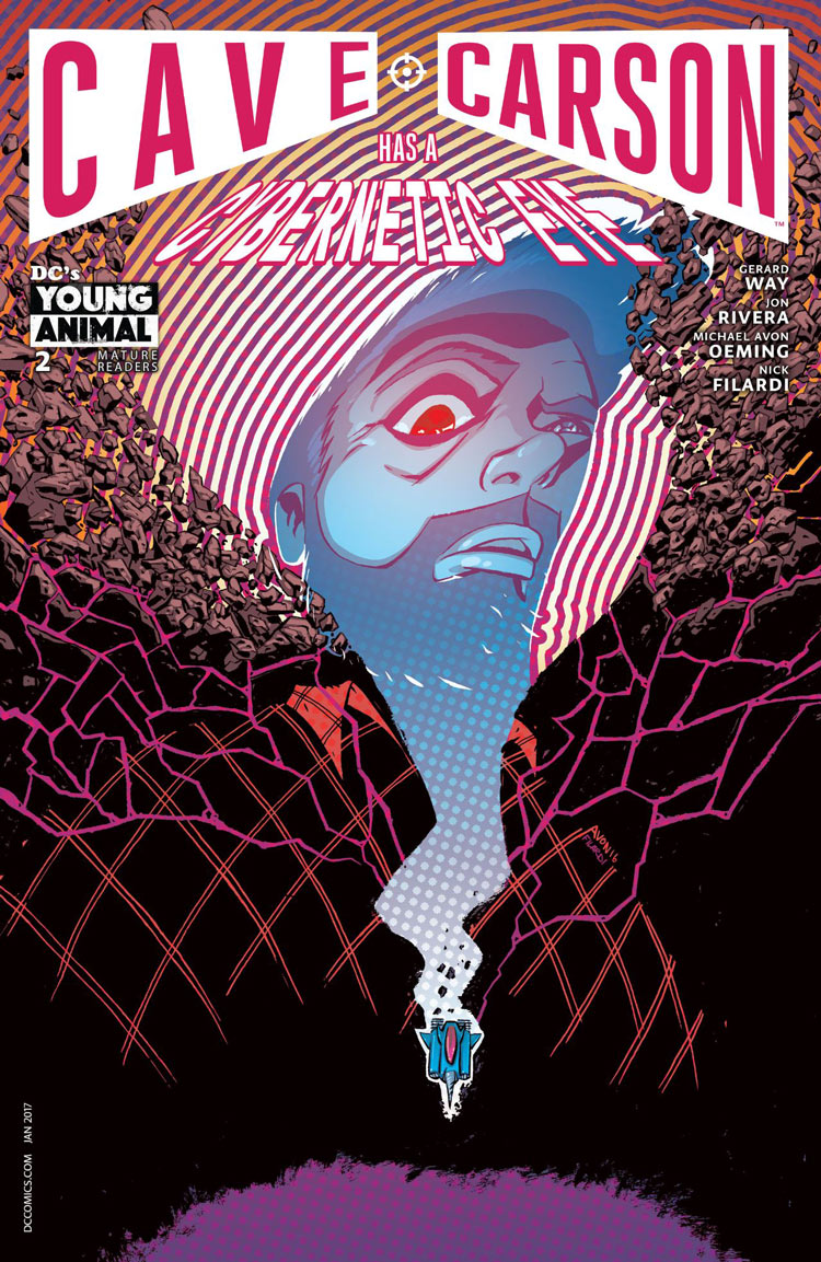 Cave Carson Has A Cybenetic Eye