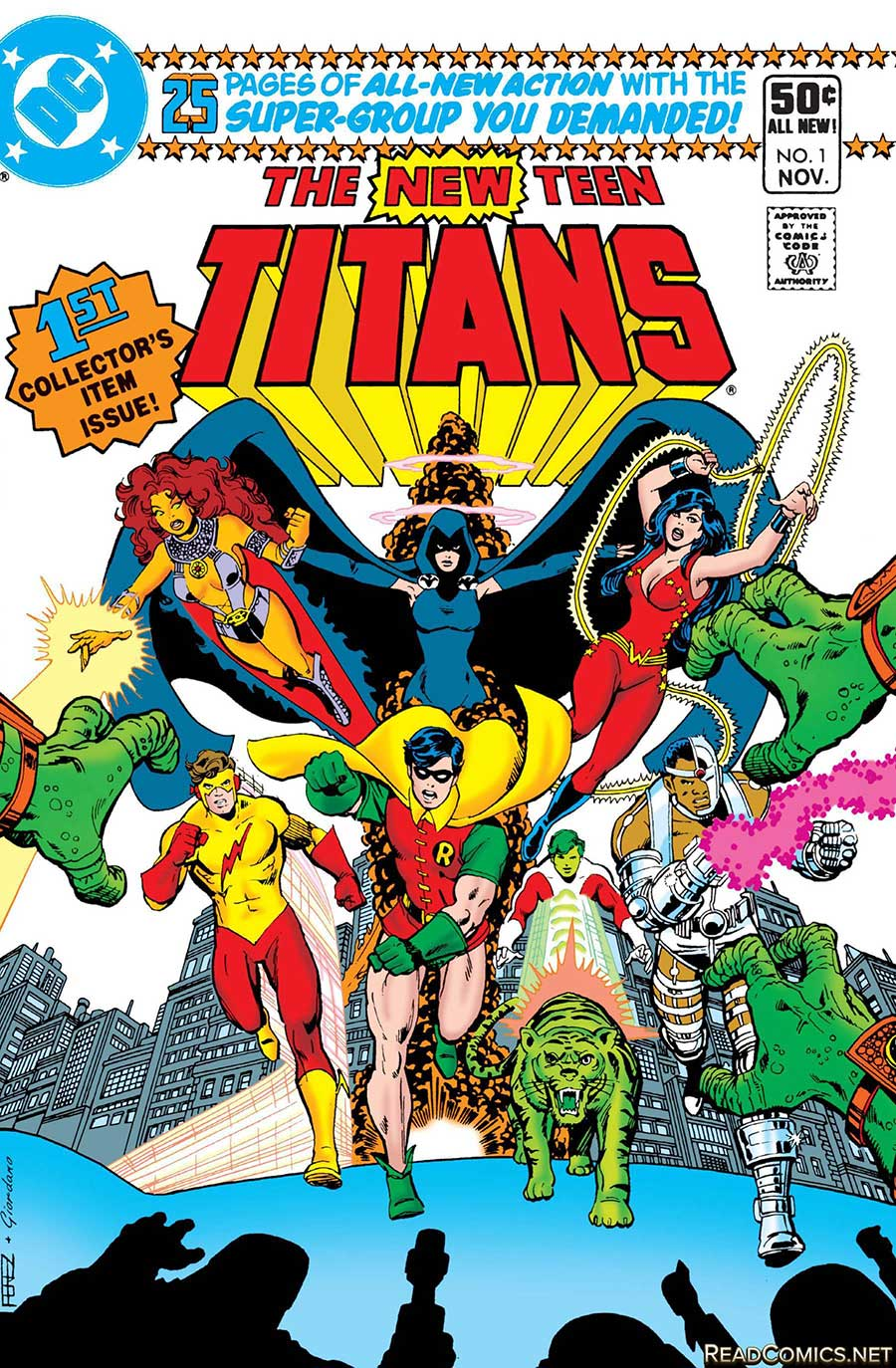 The New Teen Titans (Wolfman/Perez)