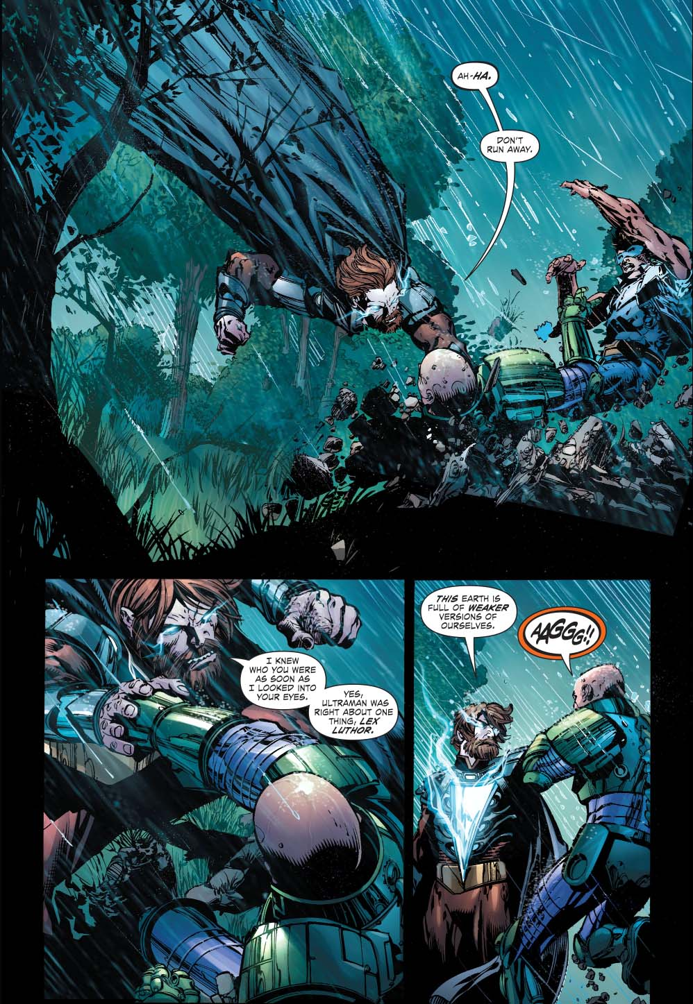 The Injustice League vs. the Crime Syndicate (Forever Evil)