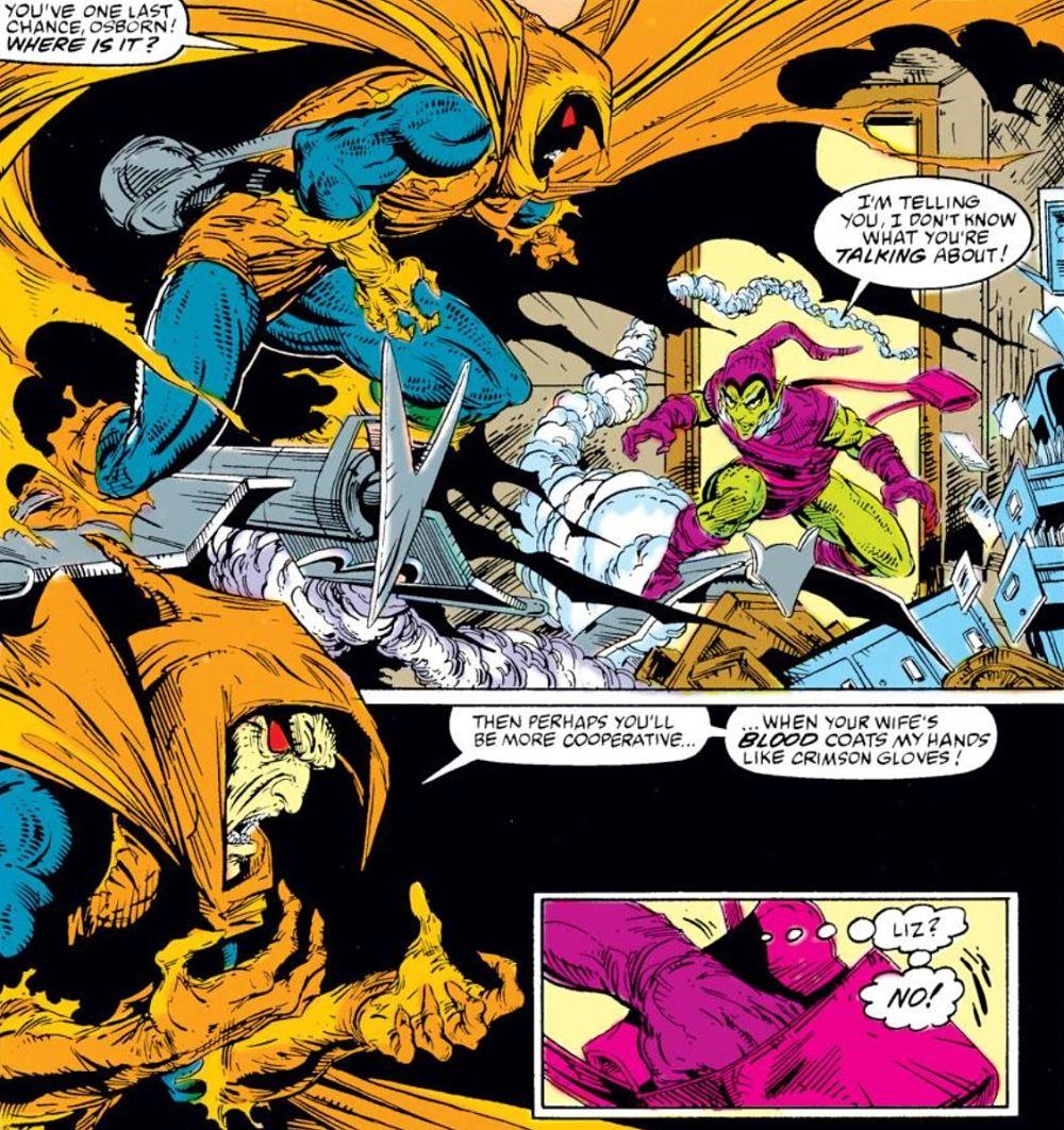 Green Goblin vs. Hobgoblin (Amazing Spider-Man #312)