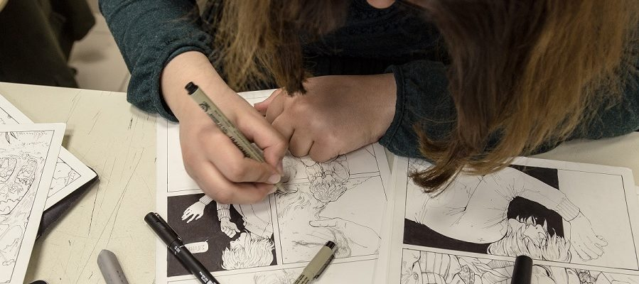 comicdom con athens 2017 workshops