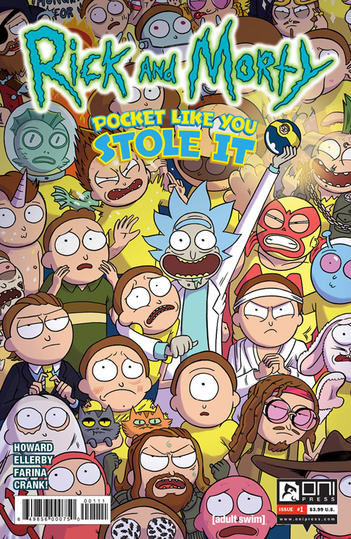 Rick and Morty: Pocket It Like You Stole It