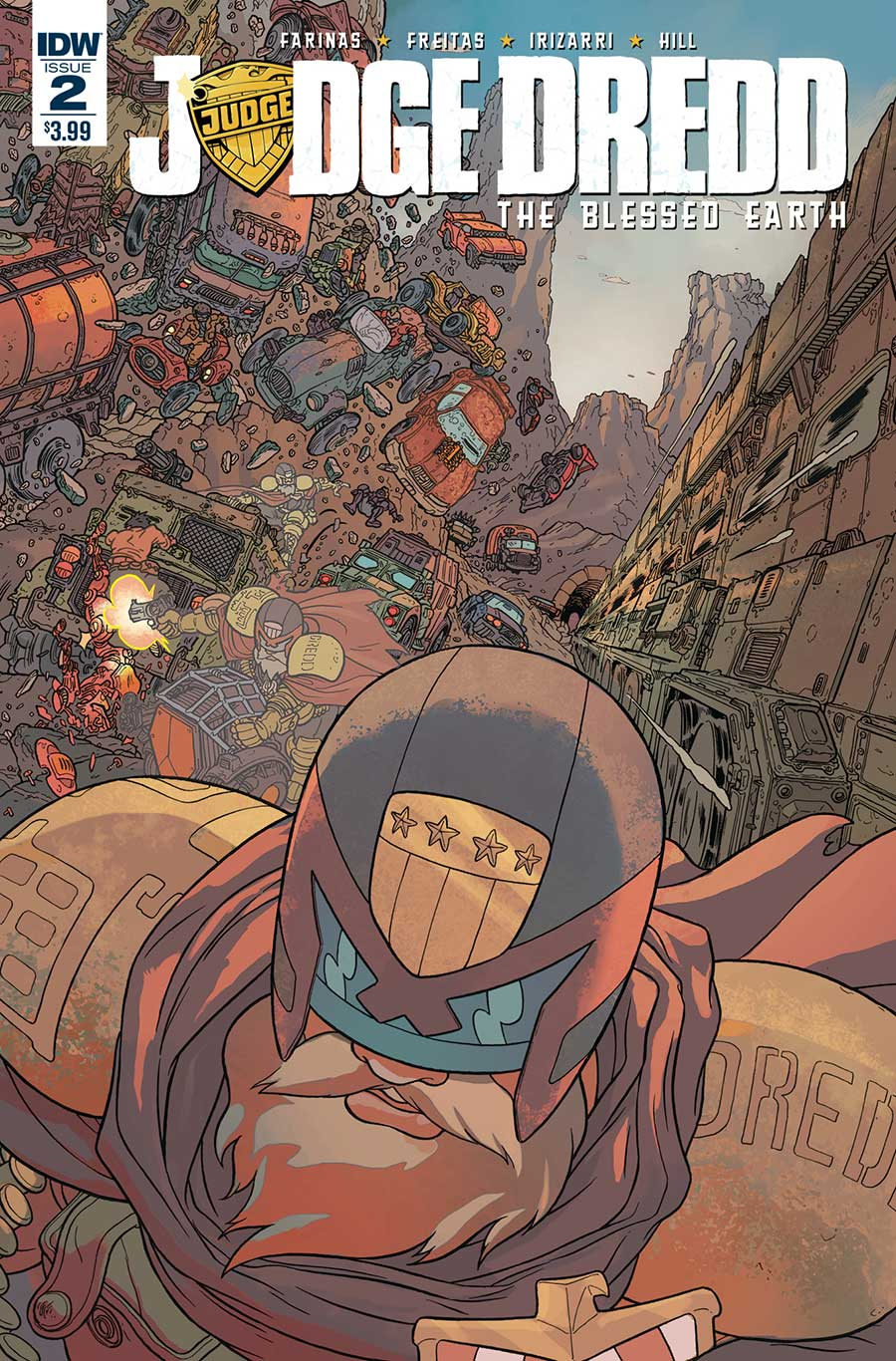 Judge Dredd: Blessed Earth