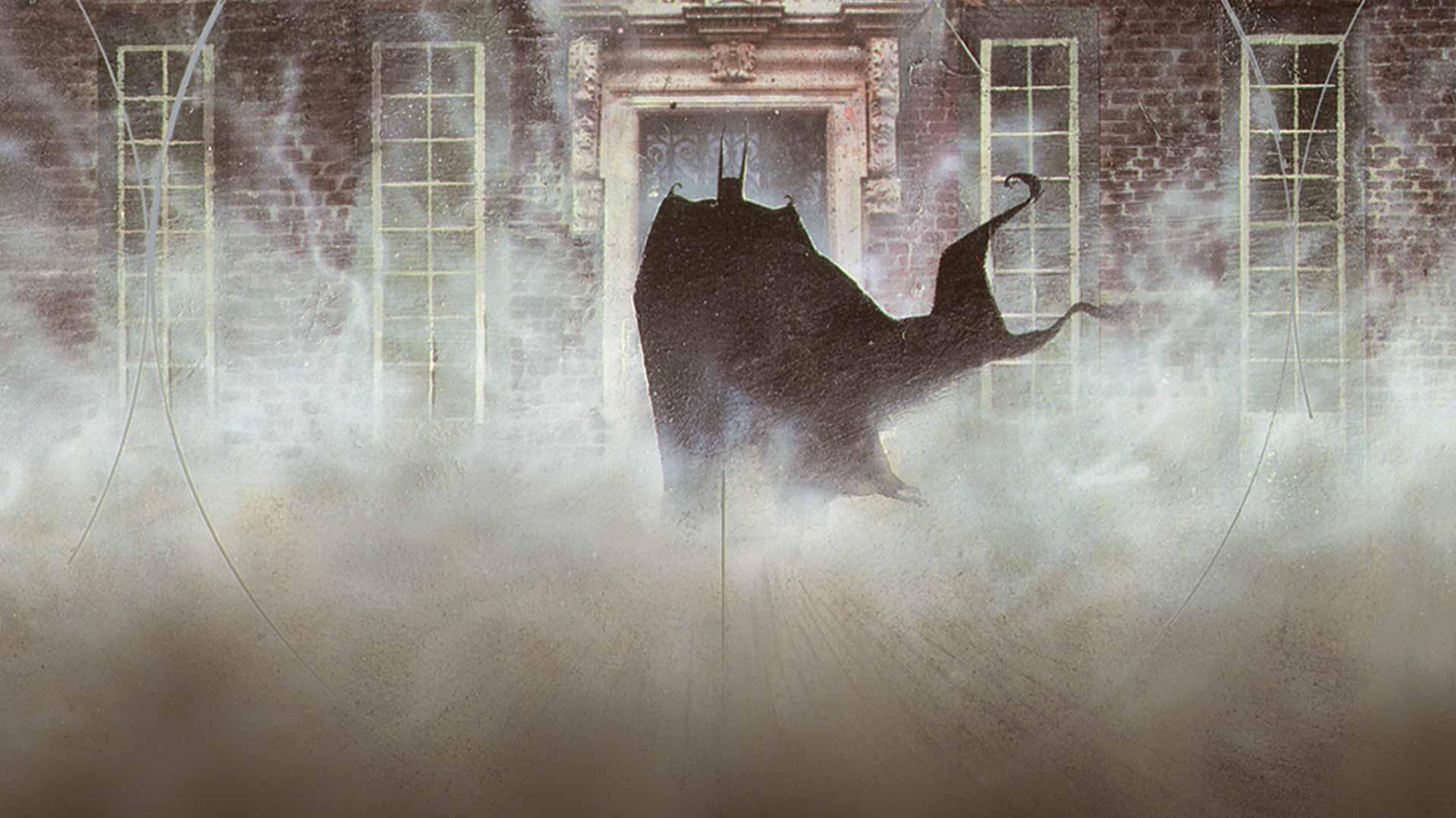 SDCC 2017 Grant Morrison Arkham Asylum 2