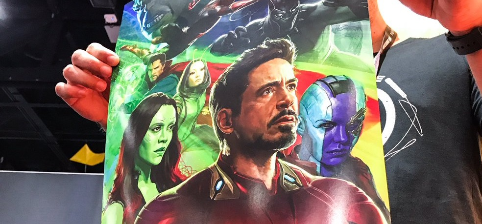 SDCC 2017 Avengers Infinity War First Poster