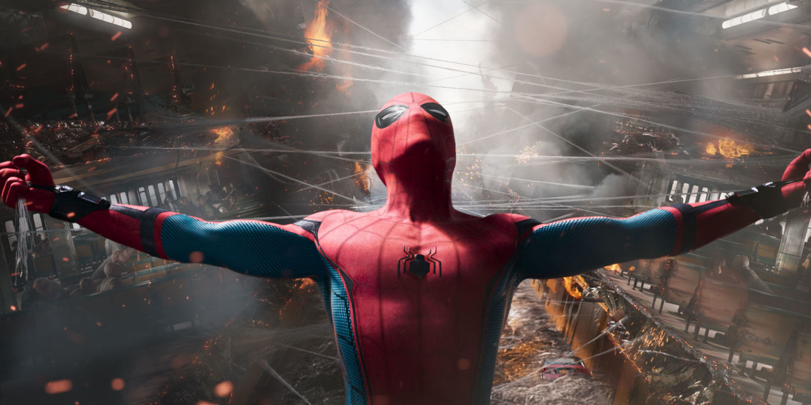 spider-man: homecoming footage