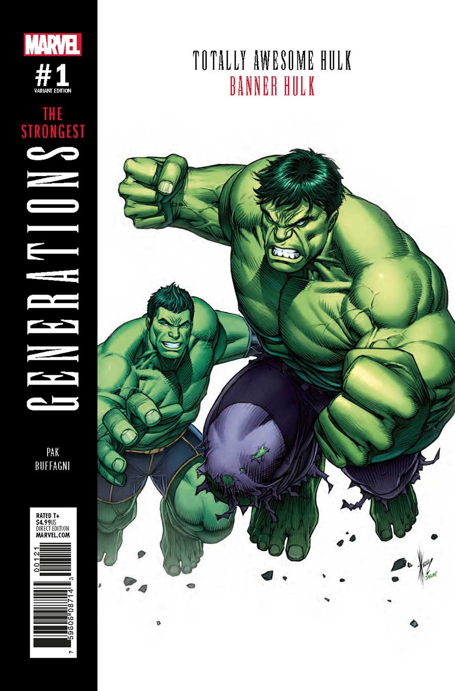 Generations: Banner Hulk & Totally Awesome Hulk