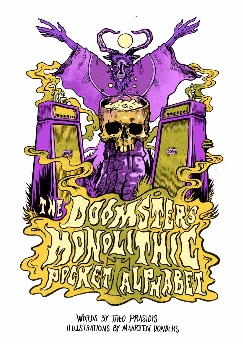 The Doomster's Monolithic Pocket Alphabet HC