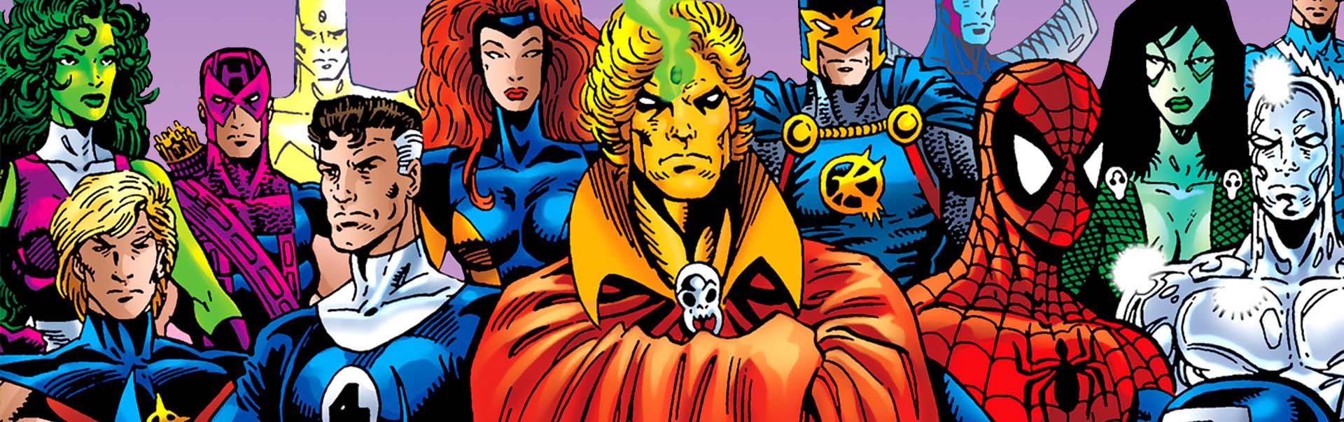 top 100 marvel comics 100-91