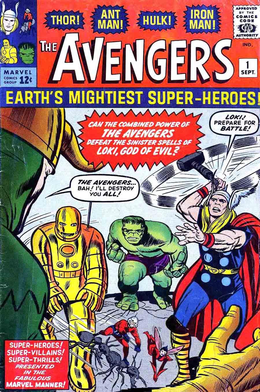Avengers (Lee/Kirby)