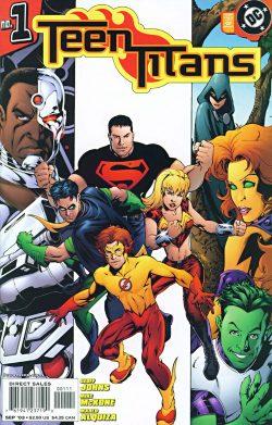 Geoff Johns Teen Titans