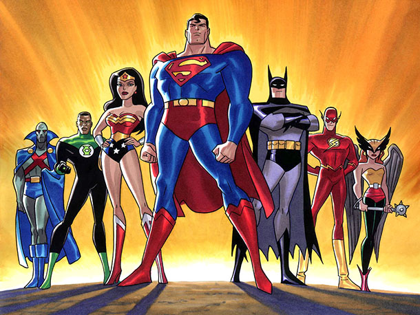 Top 10 Justice League Animated