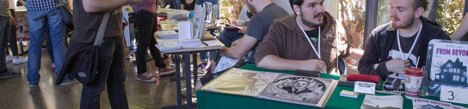 Comicdom Con Athens 2018 Self-Publishers Alley Selection