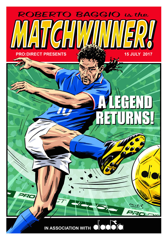 Roberto Baggio Matchwiner