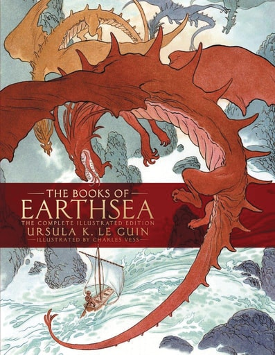 Books Of Earthsea: The Complete Illustrated Edition HC